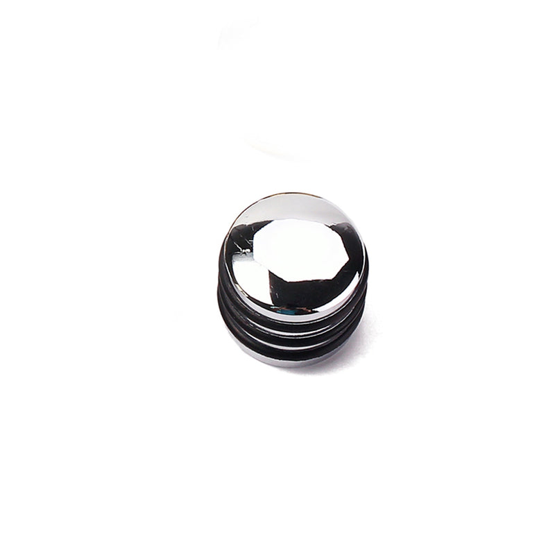 Banded Chrome Knob
