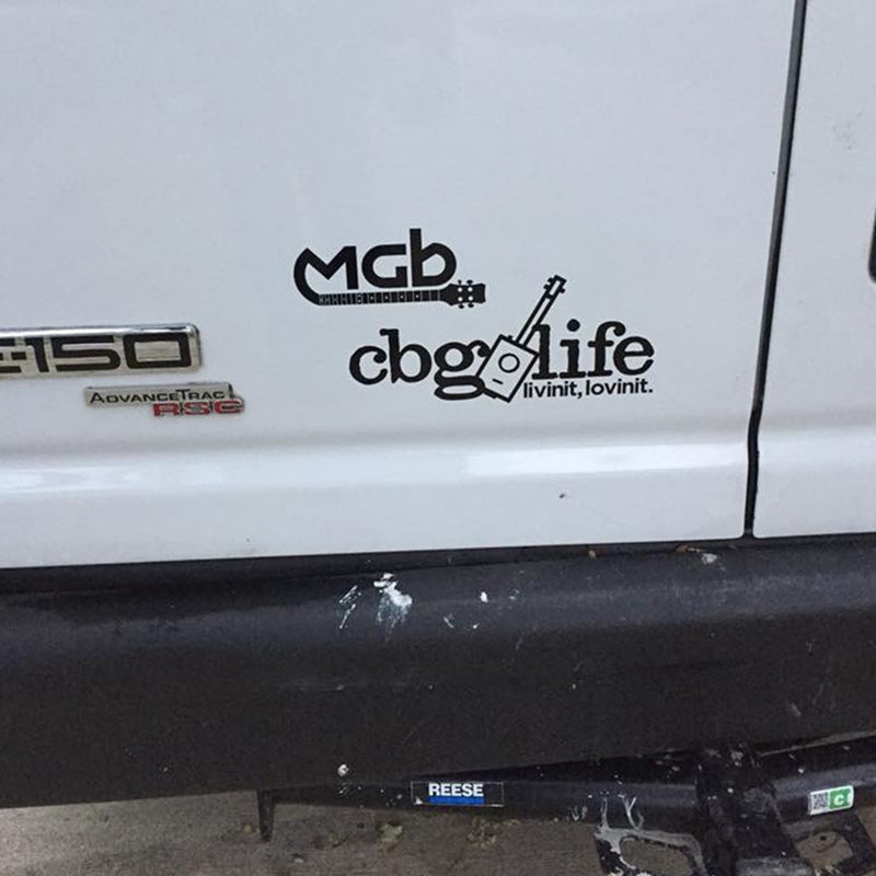 "CBGLIFE 4.5"" H x 10"" W Decal"