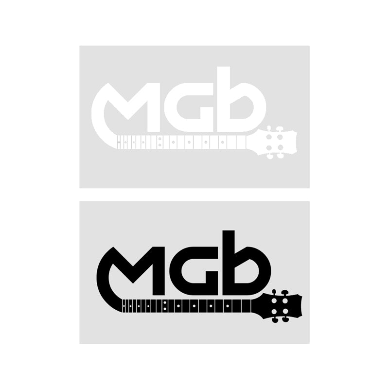"MGB 2.75"" H  x  6"" W Decal"