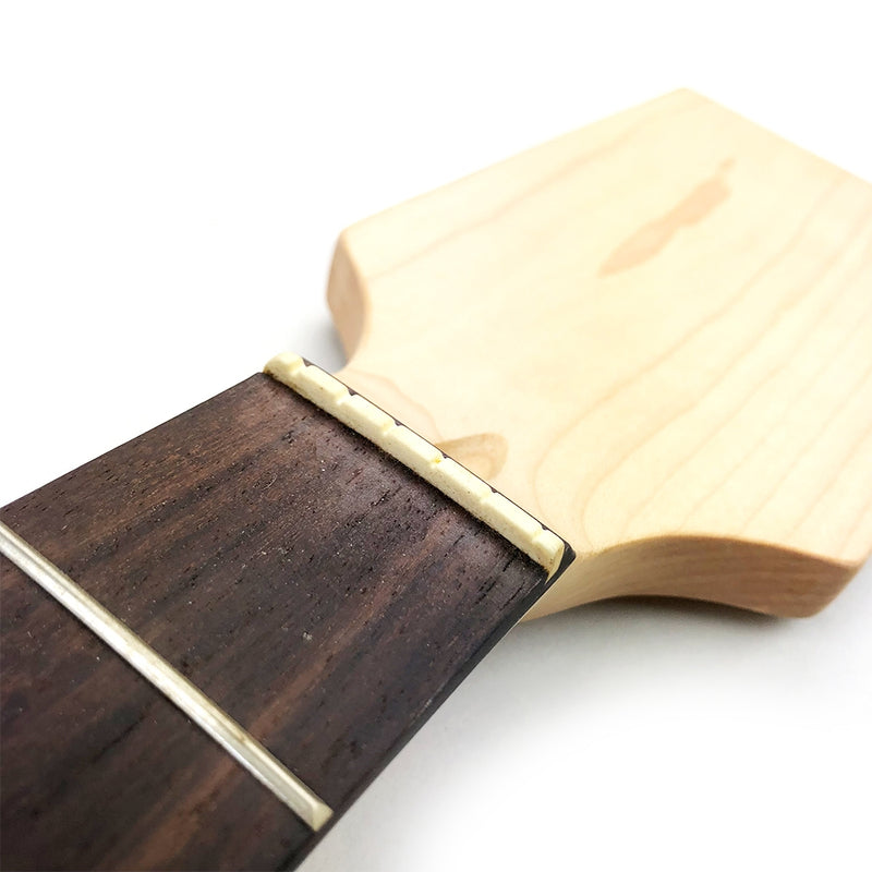 6 String Maple and Rosewood Neck | 25.5 inch Scale