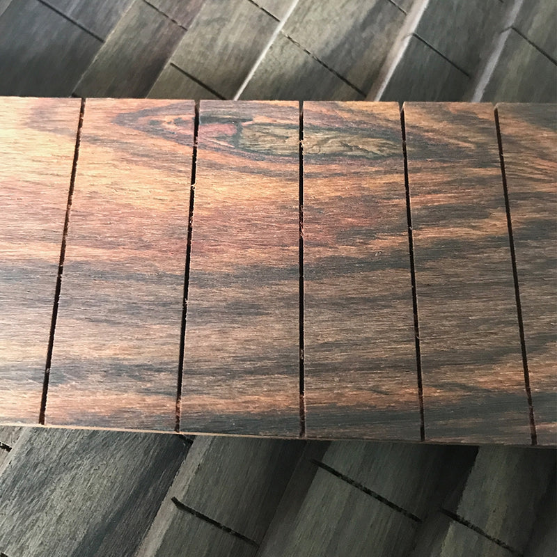 "Rosewood Slotted Finger Fret Board | 25.5"" Scale"