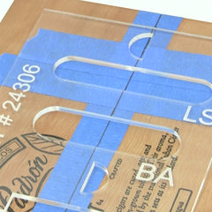 MGB Pickup Marking Template (2 Piece Set)
