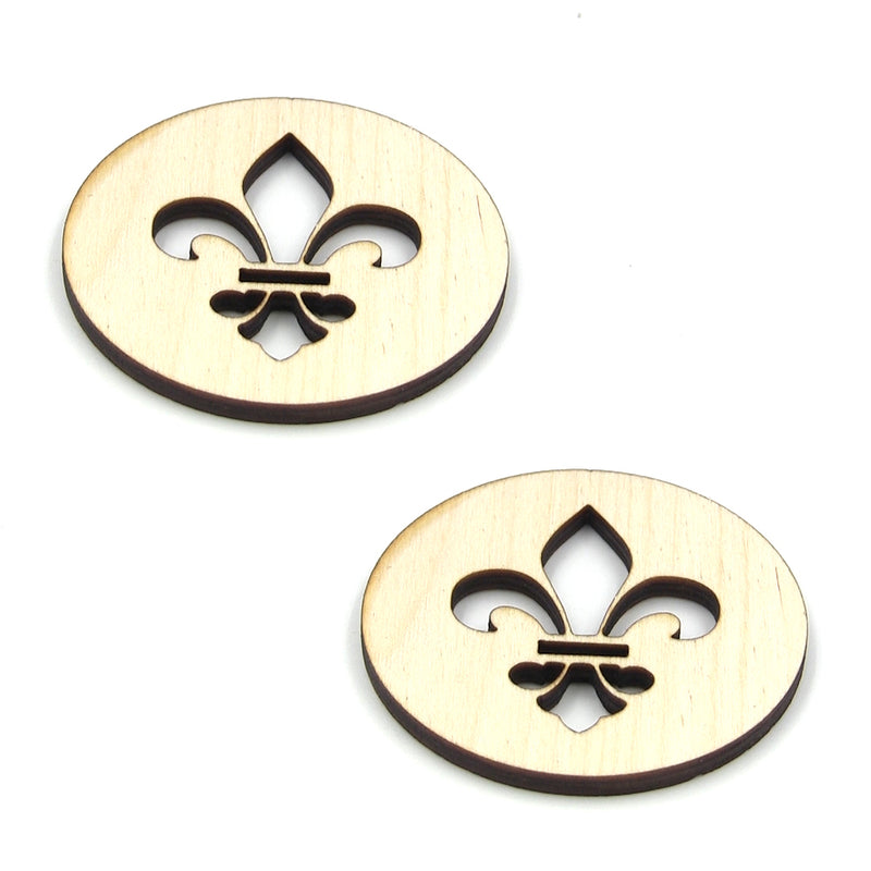 "MGB 1-1/2"" Saint Wood Sound Hole 