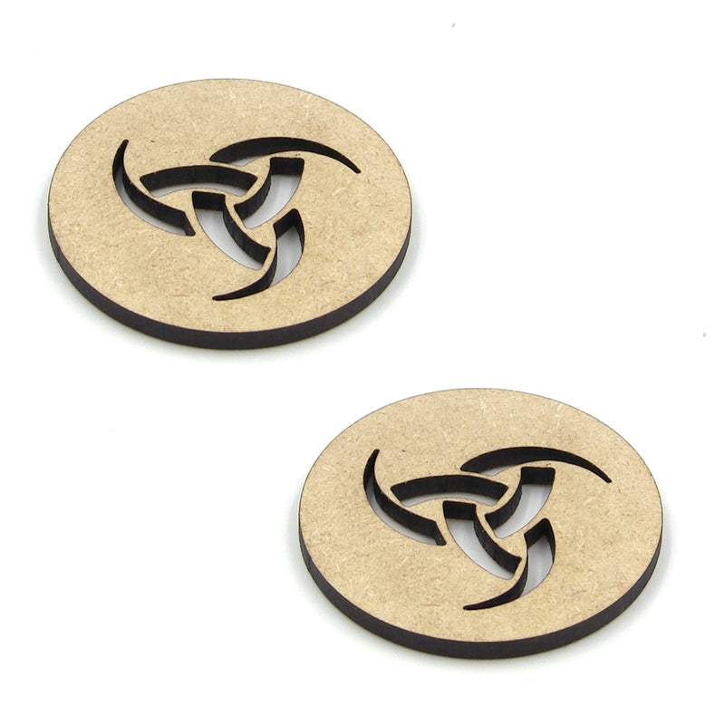 "MGB 1-1/2"" Unknown Wood Sound Hole 