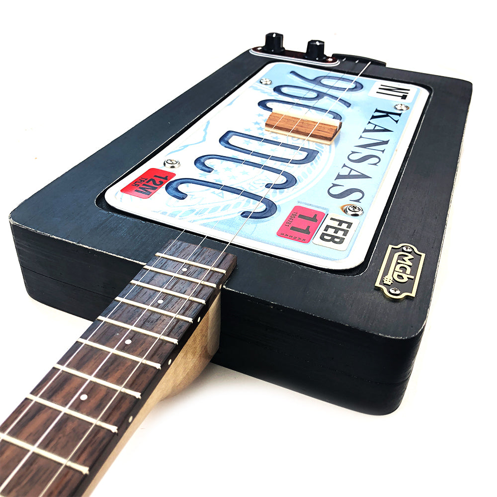 HGOD DESIGNS Guitar License Plate,Bass Guitar For Rock Festival Poster License Plate Decorative Front Plate Car Tag 6X12