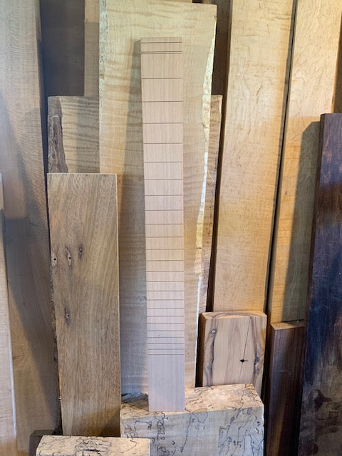 "MGB Cherry Slotted Fretboard | 25.5"" Scale"