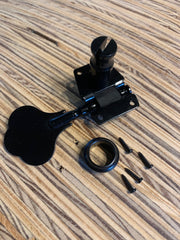 Chrome Bass Tuner Open | Left