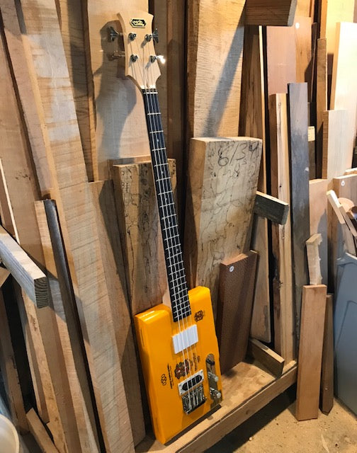 3 or 4 String Maple and Rosewood Neck | 25.5 inch Scale
