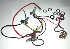 Wire Harness with Volume/Tone/Blending