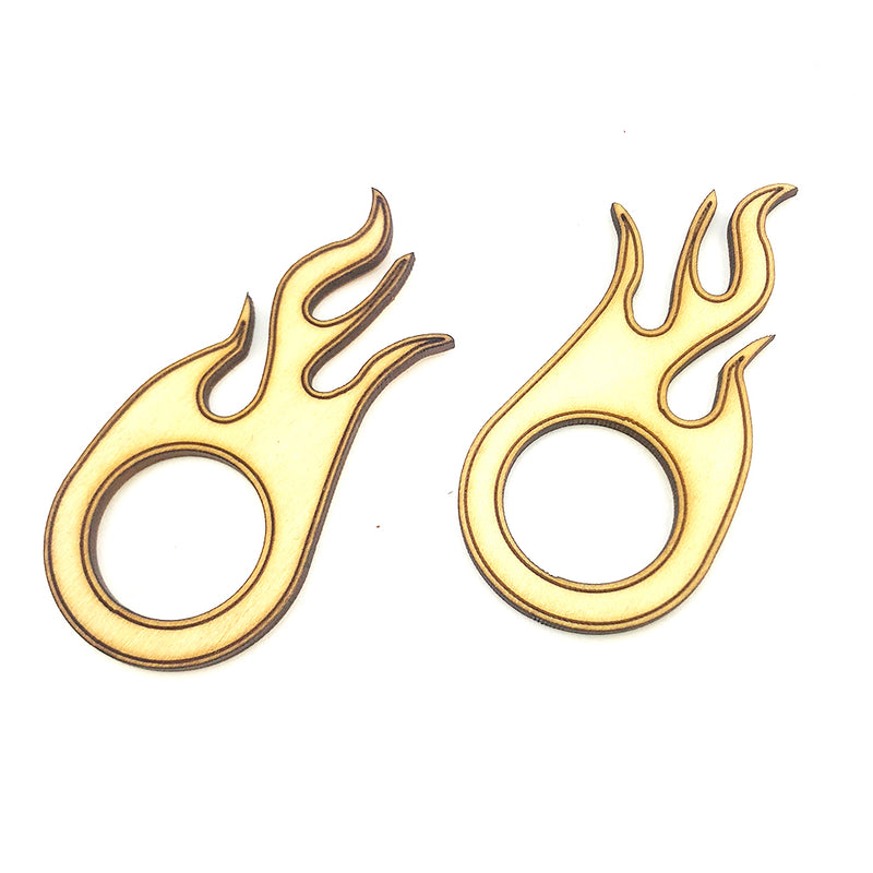 Flame Sound Hole Cover Trim Ring | 2-Pack