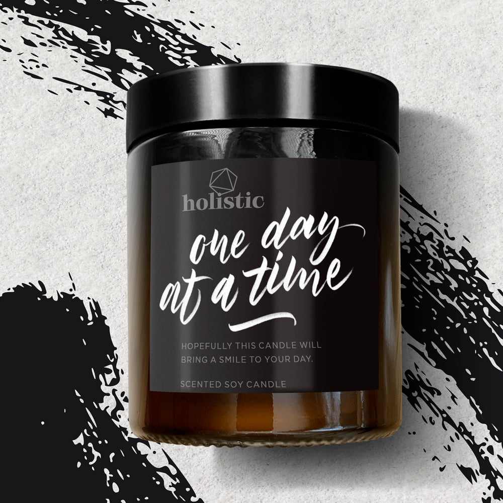 ONE DAY AT A TIME - SCENTED CANDLE