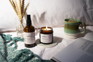 Relax & Sleep Linen Mist + Candle 180ml
