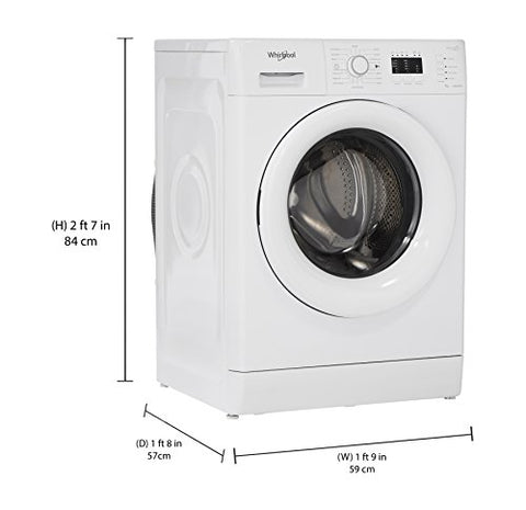 b99735c4b3856 Whirlpool 7 kg Fully-Automatic Front Loading Washing Machine (Fresh Care  7010