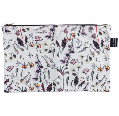 Cotton Pouch (23 cm x 37 cm) - Exclusive Wildflower design