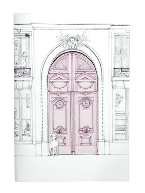 A5 Notebook (148 mm x 210 mm) - Exclusive Parisian House Design