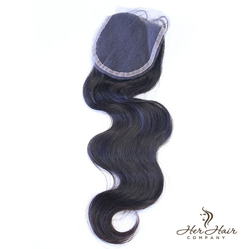 Brazilian Body Wave Lace Closure 14""