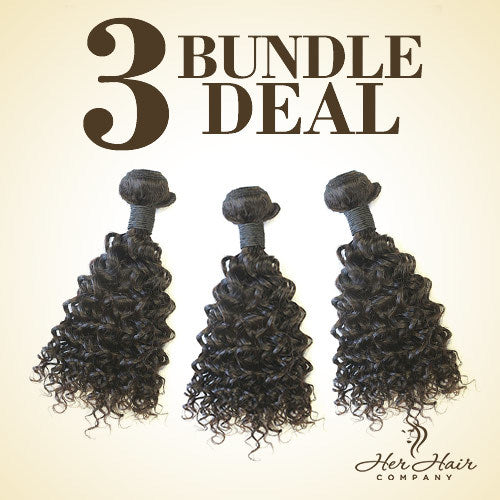 Brazilian Curly Hair 3 Bundle Deal