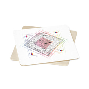 Anxiety Relief, Coaster Set - 6pcs