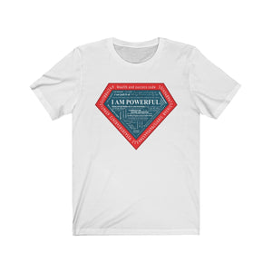 I am Powerful (Red) Unisex Short Sleeve Tee