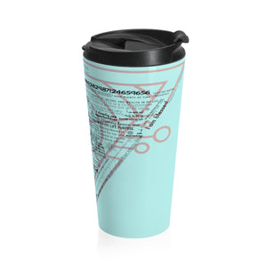 Wealth, Success Stainless Steel Travel Mug