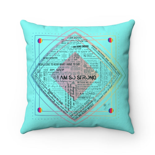 Anxiety Rescue Pillow Spun Polyester Square