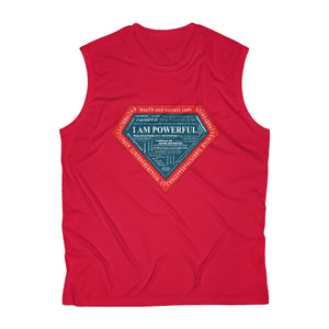 I AM POWERFUL Men's Sleeveless Performance Tee