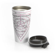 Load image into Gallery viewer, Wealth, Success Stainless Steel Travel Mug