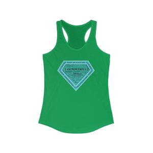 I AM Powerful Women's Racerback Tank