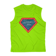 Load image into Gallery viewer, I AM POWERFUL Men's Sleeveless Performance Tee