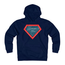 Load image into Gallery viewer, I AM POWERFUL (blue) Heavyweight Fleece Hoodie