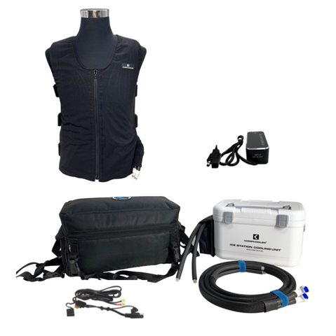 Compcooler Motorcycle Rider Solo Cooling System
