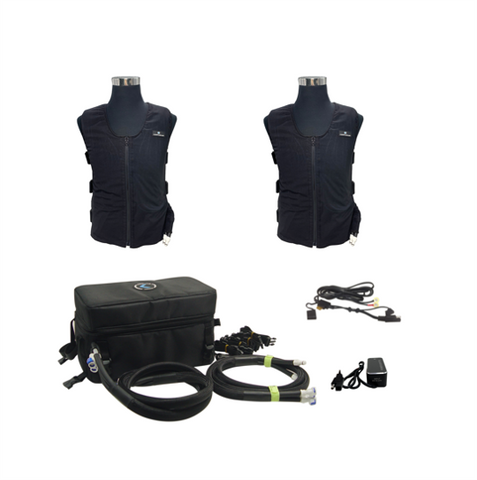 Cooling vest for motorcycle