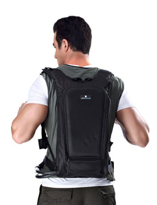 COMPCOOLER Backpack ICE Water Cooling System Hoodie Cooling T-shirt 3.0 L detachable bladder ON/OFF Mode