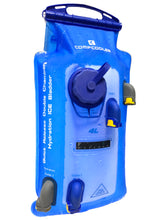 Load image into Gallery viewer, COMPCOOLER Double Chambers Quick Release Hydration Bladder 2.5L and 4.0L