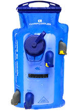 Load image into Gallery viewer, COMPCOOLER Dual Chambers Quick Release Hydration Bladder (4.0 L)