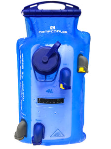 COMPCOOLER Dual Chambers Quick Release Hydration Bladder (4.0 L)