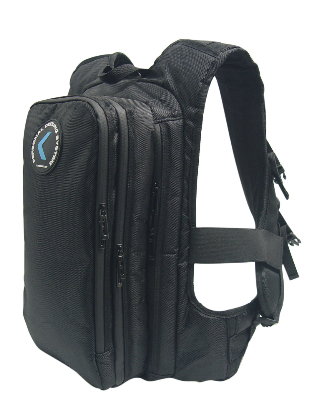 COMPCOOLER Cooling Backpack with internal cooling channel and double chambers 2.5L Hydration detachable Bladder