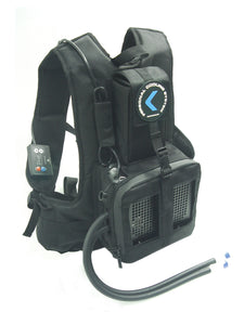 COMPCOOLER Backpack Individual Cooling System 200W Cooling Capacity DC 12V 20A Battery Operated