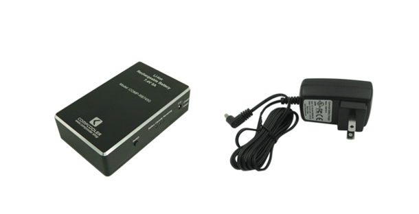 COMPCOOLER 7.4V 2200mAh and 5000mAh Li-Ion Rechargeable Battery and Charger