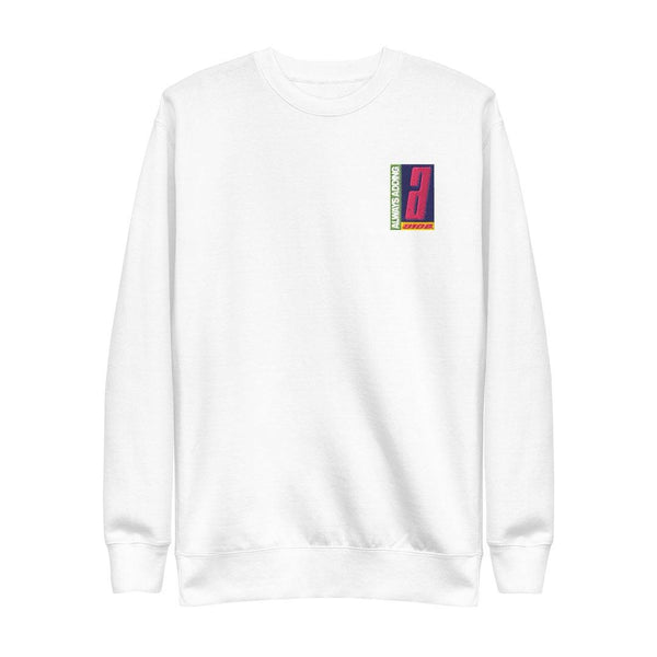 Always Adding Crewneck (White) - 0106.