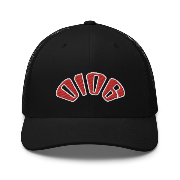 Logo Arch Trucker (Black) - 0106.