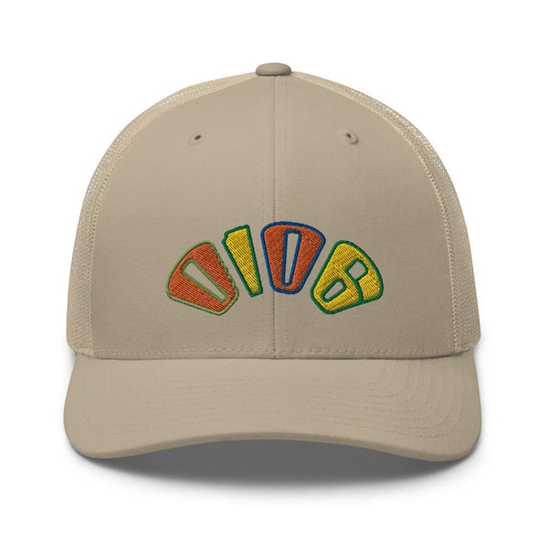 Logo Arch Trucker (Tan) - 0106.