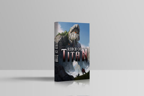Kickstarter Reach of Titan hardcover
