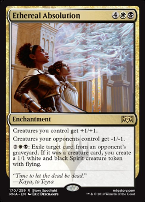 Ethereal Absolution [Ravnica Allegiance]