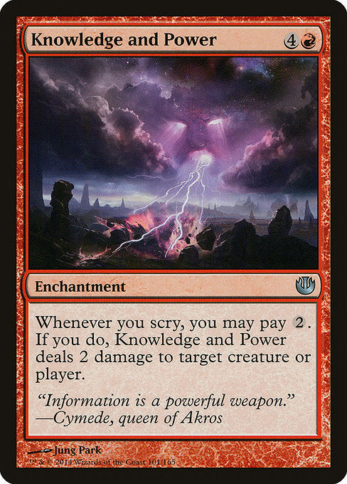 Knowledge and Power [Journey into Nyx] | Guf