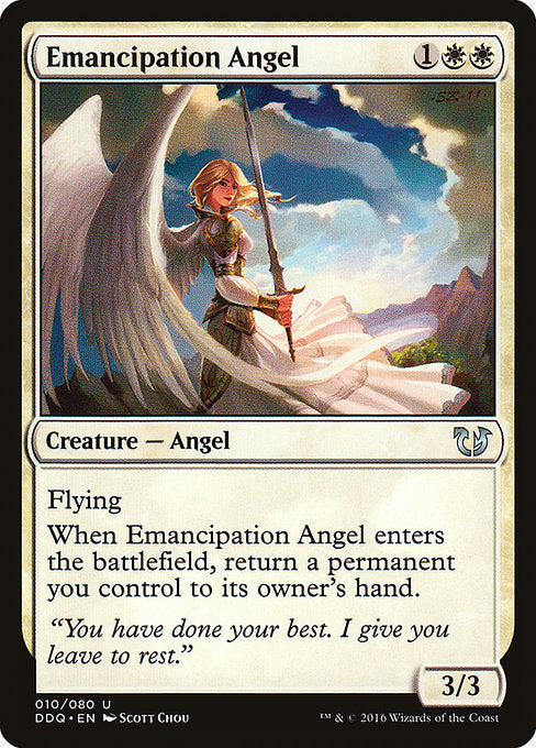 Emancipation Angel [Duel Decks: Blessed vs. Cursed] | Guf