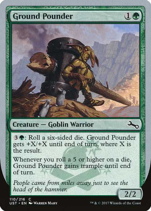 Ground Pounder [Unstable] | Guf