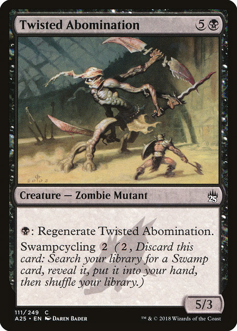 Twisted Abomination [Masters 25] | Guf