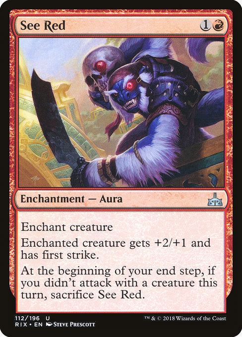 See Red [Rivals of Ixalan] | Guf