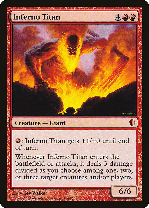 Inferno Titan [Commander 2013]